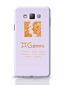 PosterGuy Gemini| Zodiac Sign Gifts Line Art Illustration Samsung Galaxy A7 Covers
