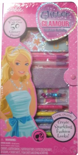 Barbie Glitter Glamour Fashion Activity - 1