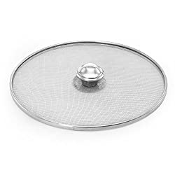 @home Cover Silver Stainless Steel Milk Cover