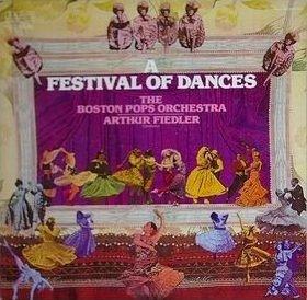 Arthur Fiedler & The Boston Pops Orchestra: A Festival Of Dances [2 Vinyl Lp Set] [Stereo]