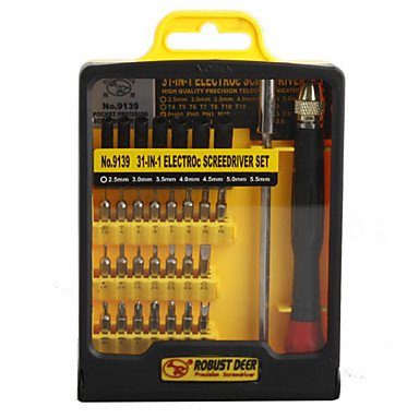 Precision Screw Driver Kit Electronic Diy (31 Sets)