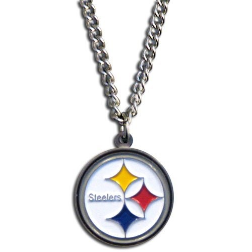 "Pittsburgh Steelers NFL 20"" Chain Necklace With Team Logo Pendant by NFL"