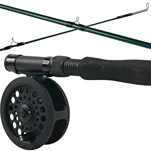 Crystal river fly fishing combo kit sports for Amazon fishing rods