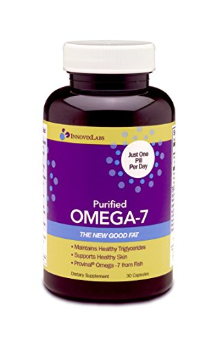 Purified OMEGA 7 (by InnovixLabs). The Healthy Fat in Fish and Macadamia. 210 mg Palmitoleic Acid Triglyceride-form Omega-7 per Pill. 30 Capsules (1 Month Supply). (Omega 7 Supplement compare prices)
