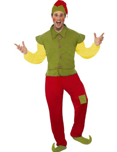 Cool Yule Elf Mens Costume