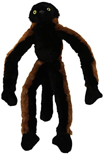 Wild Republic 15253 - Hanging Monkey Roter Vari Plüsch-Affe, 51 cm