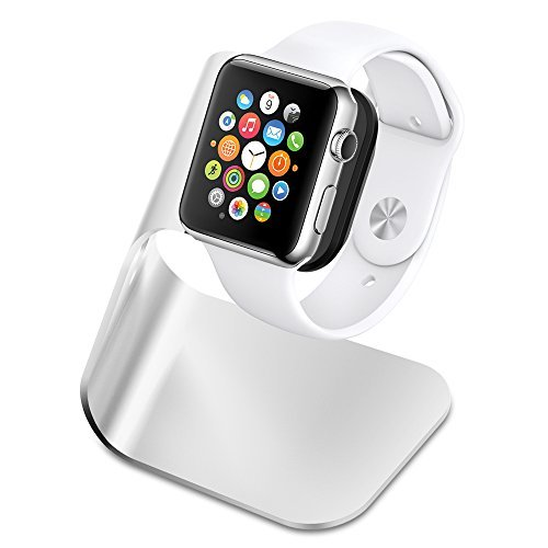 Apple Watch スタンド Spigen [充電 クレードル ドック] アップル ウォッチ 38mm / 42mm 対応 アルミニウム製 スタンド S330【国内正規品】(2015) (S330 【SGP11555】)