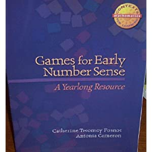 Games/Early Numbr Sense G K Cfl Math 07 Fosnot