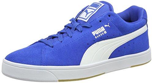 puma-suede-s-mens-low-top-trainers-blue-puma-ryl-white-9-uk