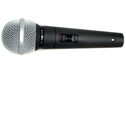 GLS Audio Vocal Microphone ES-58-S & Mic Clip