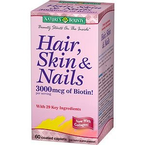 Nature'S Bounty Skin, Hair & Nails, Tablets 60 Ea