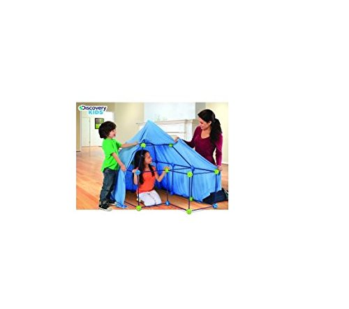Discovery Kids 77-Piece Build And Play Construction Fort Set front-569299