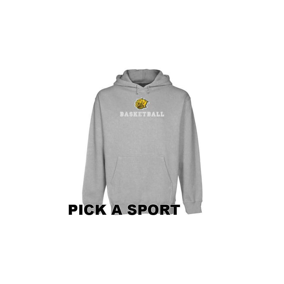 Arkansas Pine Bluff Golden Lions Ash Custom Sport Logo