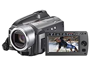 Canon HG20 High Definition HDD Camcorder - Silver (12 x Optical Zoom, Multiangle Vivid LCD)