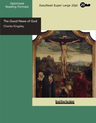 The Good News of God (EasyRead Super Large 20pt Edition)