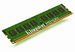 Kingston ValueRAM 8 GB Kit (2x4 GB Modules) 1333MHz DDR3 Non-ECC CL9 DIMM Desktop Memory KVR1333D3N9K2/8G