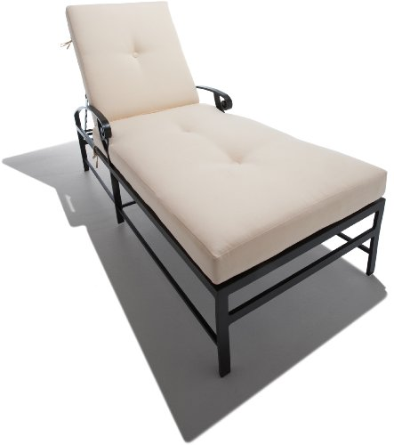 Cheap price strathwood grand isle chaise lounge chair for Best price chaise lounge