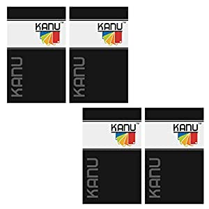 Kanu Tempered Glass For Micromax A116 Canvas HD (Pack Of 4)