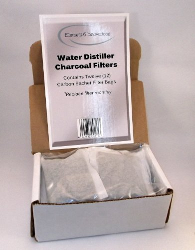 Cheap Dozen Water Distiller Charcoal Filters by Element Six