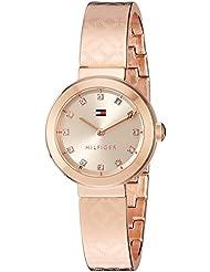 Tommy Hilfiger Women's Quartz Gold Casual Watch(Model: 1781715)