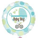 Baby Boy Buggy Foil Balloon - 18