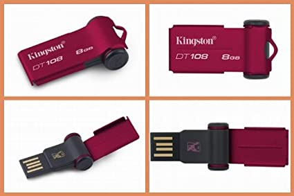 Kingston DataTraveler 108 8GB Pen Drive