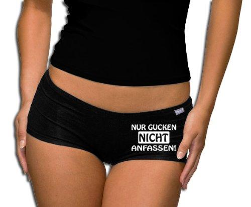 Calze donna Touchlines sallerturin - T-Shirt - non solo per andare a toccarmi, black, alalal, PT213