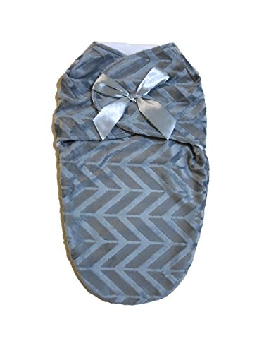 Beautiful Cozy And Warm Baby Swaddle Blanket - GREY