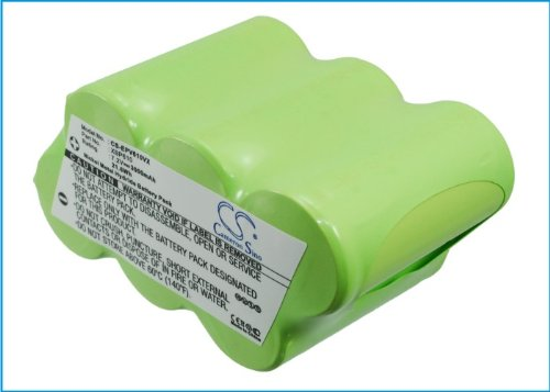 Battery2Go - 1 Year Warranty - 7.2V Battery For Euro-Pro Xbp610, Shark Uv614H, Shark Uv614, Shark Xbp610, Shark Uv610C