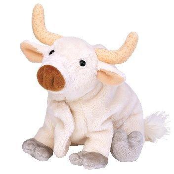 Ty Beanie Babies Frosty - Bull - 1