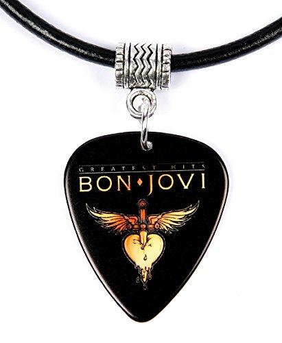 Bon Jovi Greatest Hits Collana con plettro chitarra