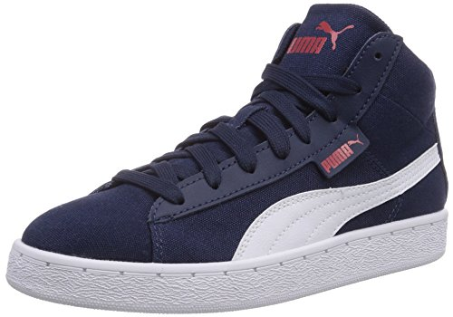 Puma Puma '48 Mid CV, Sneaker alta unisex adulto, Blu (Blau (peacoat-white 02)), 39