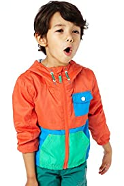 Hooded Colour Block Jacket