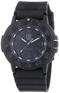 Luminox Herren-Armbanduhr XL Analog Quarz Silikon 09LX3001BO