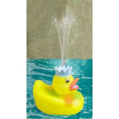 Sprinkles the Quacking, Flashing, Water Fountain Rubber Duck
