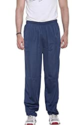WARM UP - NAVY -Track Pants with Zipper Pockets : Size-3XL
