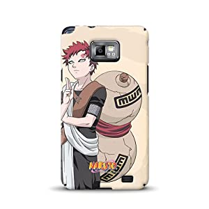 Diabloskinz D0055-0062-0037 Naruto Gaara komplett bedruckte Schutzhülle für Samsung Galaxy S2