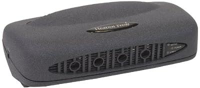 Heaven Fresh HF 100 Ionic Air Purifier - Color Black Velvet