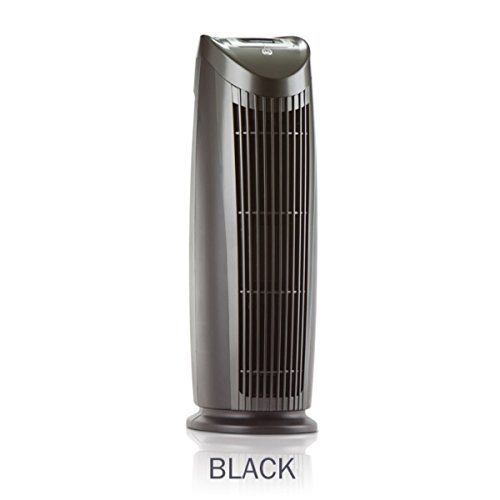 Alen T500 Tower Air Purifier with HEPA-Silver to Remove Allergies, Mold & Bacteria in Black (Black, Silver, 1-Pack) (Best Purifier compare prices)