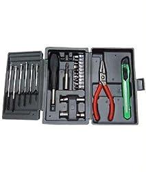 Multipurpose 24 PCs Hobby Tool Kit For Home Office Garage Factory Foldable