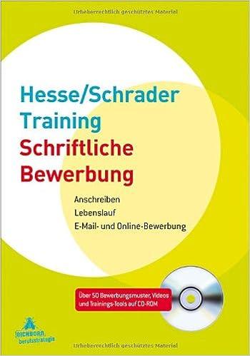 hesse schrader training schriftliche bewerbung