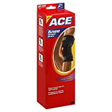 ACE Knee Hinged Brace, Firm Support, One Size, 1 brace