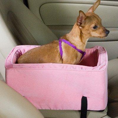 Bundle-21 Luxury Lookout Console Dog Car Seat (2 Pieces) Size: Large (up to 12 lbs), Color: Saddle/Butter фурминатор для собак короткошерстных пород furminator short hair large dog