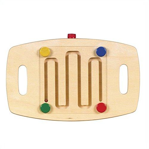 Balance Board Maze Game: Guidecraft Marble Maze Children's Balance Board G99003
