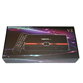 BONUS PACK!! NBOX V3 Full HD 1080P Digital TV Media player With FREE Premium HDMI Cable