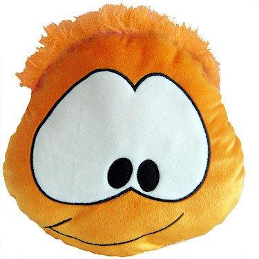 Disney - Club Penguin - Coussin Puffle - Puffle Orange - 25 x 25cm.