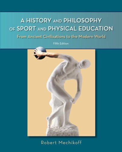 A History and Philosophy of Sport and Physical Education:...