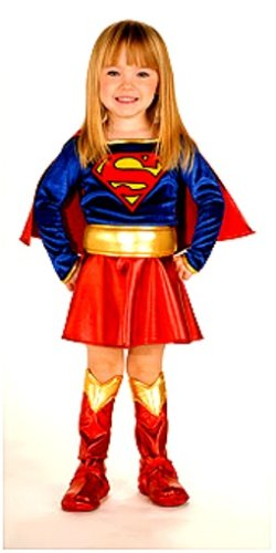 Super DC Heroes Supergirl Toddler Costume, (Size 2-4)