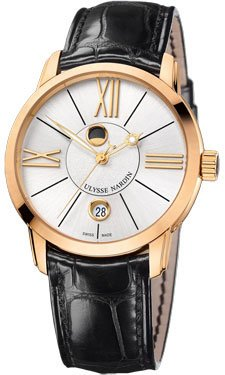 Ulysse Nardin Classico Luna Rose Gold Watch