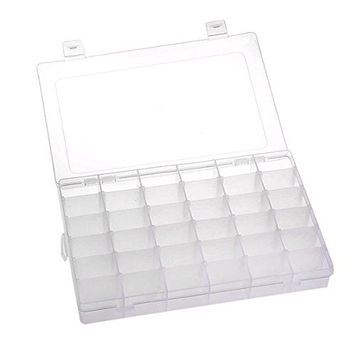 sodialr-organizador-36-compartimento-plastico-bisuteria-ajustable-nuevo